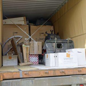 Inhalt eines Containers