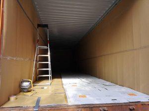 leerer Container