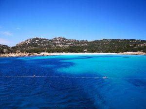 Lagune in Sardinien
